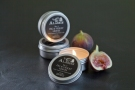 Alassis travel tins in No. 4 Fig & Violet Leaves